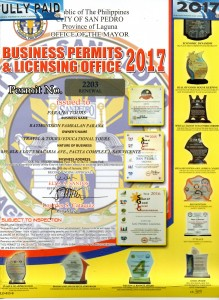 Business Permit 2017